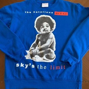 NOTORIOUS BIG CREWNECK SWEATSHIRT